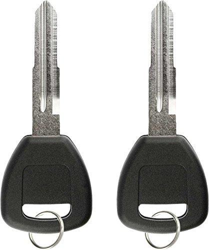 keylessoption Replacement chip transpondedor clave en blanco (Pack de 2)