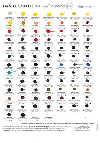 Price comparison product image Daniel Smith 88 Dot Trial Card - all 5ml Colours!