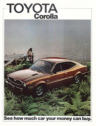 Sr5 Wagon - 1975 Toyota Corolla sales brochure: Hardtop Sedan Wagon SR-5