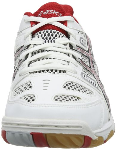 Asics Gel-tactic, Men's Volleyball Shoes Weiß (Weiß / Rot)