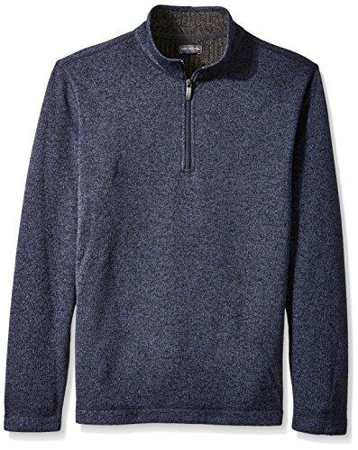 Van+Heusen+Men%27s+Sweater+Fleece%2C+Total+Eclipse%2C+Large