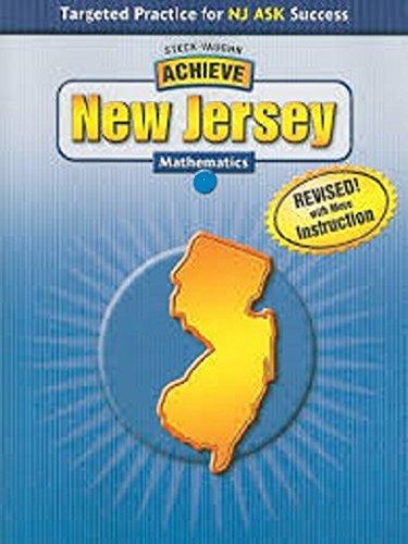 Steck-Vaughn Achieve New Jersey: Student Workbook Grade 8 Math PDF