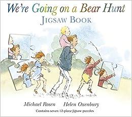 Book We're Going on a Bear Hunt (Jigsaw Books)