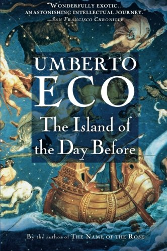 Book cover for The Island of the Day Before