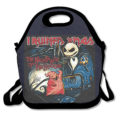 - Waterproof Lunch Tote Iron Maiden The Night Of The Boogie Lunch Tote Bag
