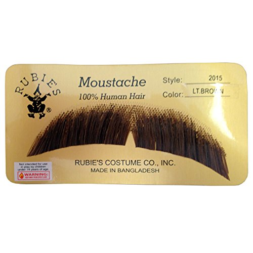 Mustache Costumes (BASIC CHARACTER MUSTACHE, LIGHT BROWN [Apparel])