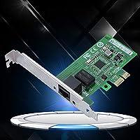 Amazon.com: ASHATA Tarjeta de red, para Intel I210AT PCI-E ...