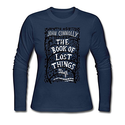 Women's John Connolly Movie Book Of Lost Things T-shirt Navy Long - Rayban Official