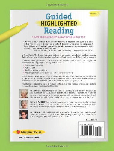 Workbook free high school reading comprehension worksheets : Amazon.com: Guided Highlighted Reading: A Close-Reading Strategy ...