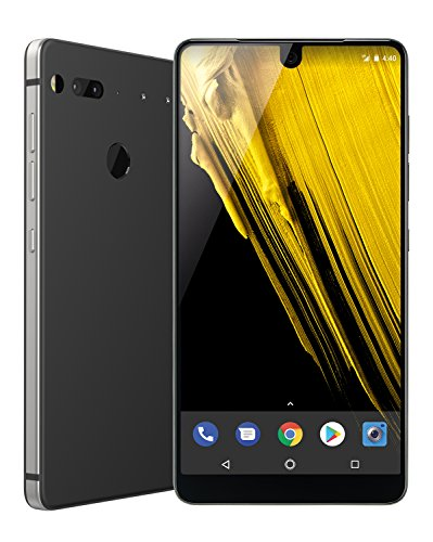 Essential Phone in Halo Gray 128GB Unlocked Titanium & Ceramic Phone Deal (Large Image)
