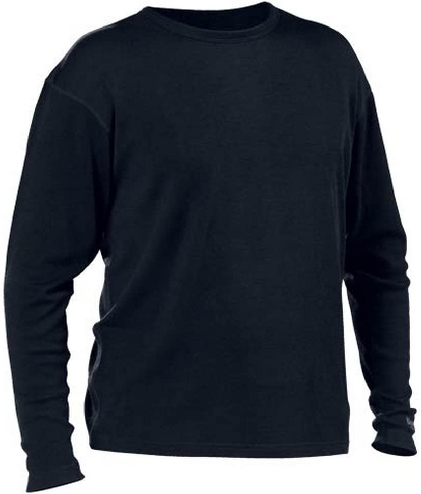 Castle X Racewear Mid Weight Crew Neck Mens Winter Top Layer Black 2XL