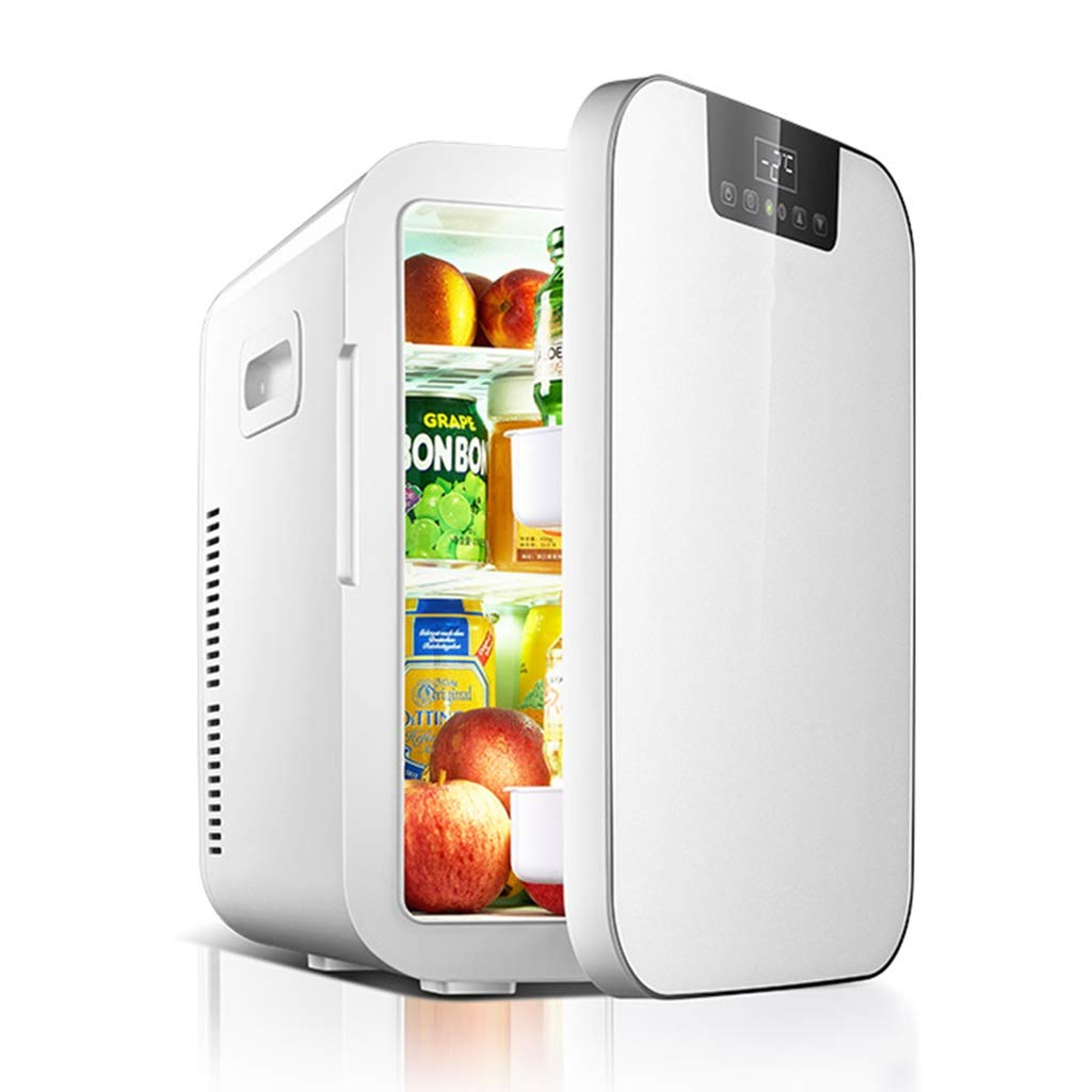 Refrigerator SHPING 20L Car Small Fridge Smart Mini Household Large Capacity Hot and Cold Dual-use (Color : White) by Refrigerator