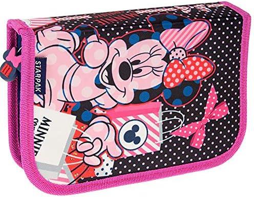 Starpak Disney Minnie - Estuche escolar para niños (21 x 13 ...