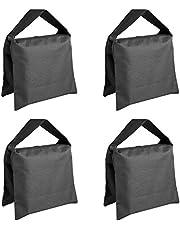 Neewer Heavy Duty Photographic Sandbag Studio Video Sand Bag for Light Stands, Boom Stand, Tripod -4 Packs Set