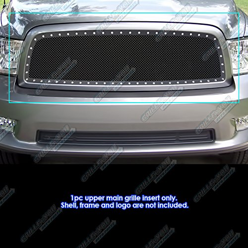 2012 dodge ram 1500 black emblems - 3