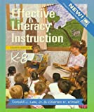 img - for Effective Literacy Instruction, K-8 (4th Edition) book / textbook / text book