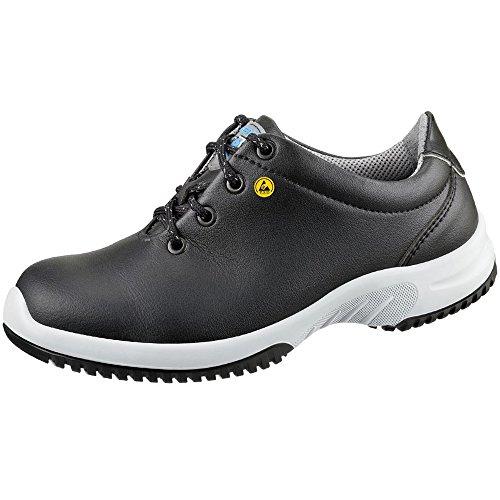 """Abeba 31781-43 talla 43"""" bajo zapatos seguridad ESD-uni6 pulgada - negro"""