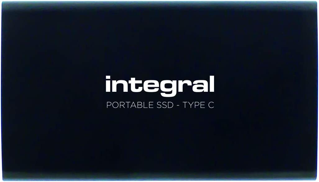 Integral 480GB Portable SSD Drive USB3.1 External SSD Black