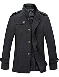Amazon.com: Grey - Wool & Blends / Jackets & Coats: Clothing ...