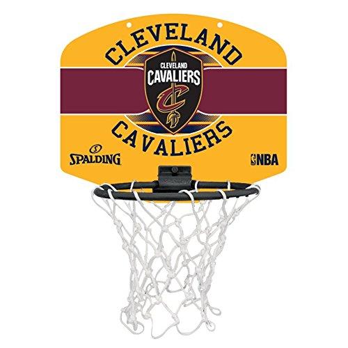 Spalding NBA Miniboard Cleveland Cavs 77-650Z Minicanasta, Unisex,, Talla Única 3001588011917