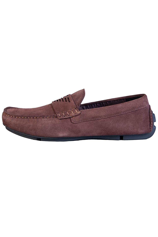 Emporio Armani Driving Shoe Hombre Zapatos Marrón: Amazon.es: Zapatos y complementos