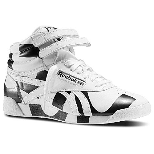 REEBOK Frauenturnschuhe M46583 F / S HALLO CO-OP White/Black