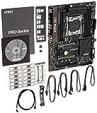 MSI Computer Extreme Gaming Intel X99 LGA 2011 DDR4 USB 3.1 ATX Motherboard (X99A SLI)
