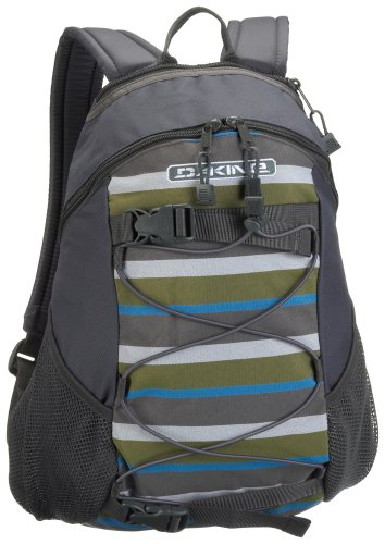 DaKine Women's Wonder Backpack (Charcoal/ Trio Stripe)