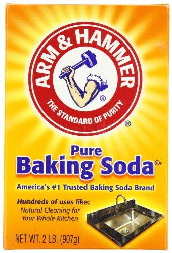 (Arm & Hammer 3320001140EA Baking Soda, 2lb Box)