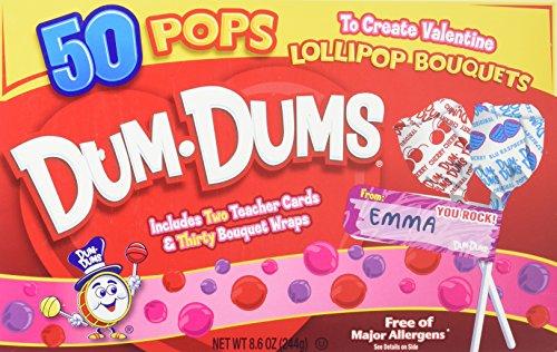 Dum-Dum Pops 50 count Valentine Kit