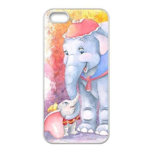 Dumbo 003 coque iPhone 4 4S Housse Blanc téléphone portable couverture de cas coque EOKXLLNCD18388