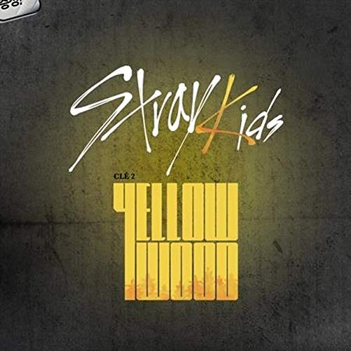 (Stray Kids - Clé 2 : Yellow Wood [Limited ver.] (Special Album) CD+Photobook+3Photocards+Unit Photocards+Sticker+Pre-Order Benefit+Folded Poster+Double Side Extra Photocards)