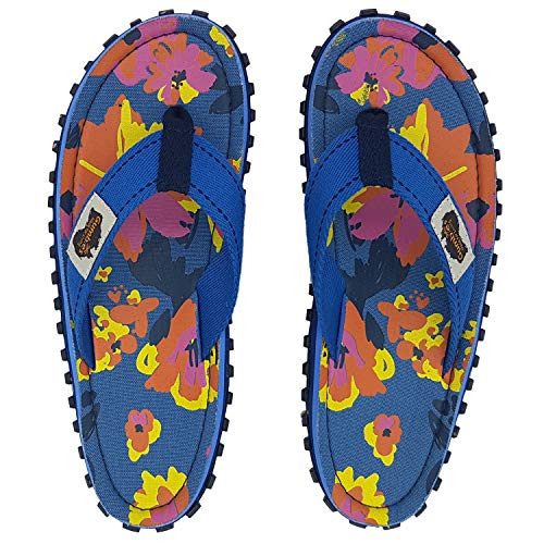 Gumbies - Islander Canvas Flip-Flops - Women's - Floral (US (W) 5)