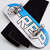 Peoples Republic P-Rep Large Logo 34mm Complete Wooden Fingerboard w CNC Lathed Bearing Wheels …
