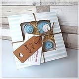 Baby Boy Baby Shower Gift New Born New Mum Cupcake Box Sock Cupcake Gift