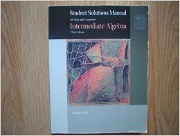 SSM Intermediate Algebra 3e