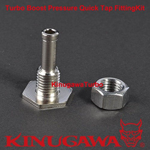 Turbo Boost Pressure Quick Tap Fitting Kit / Pressure Source on Silicon ()