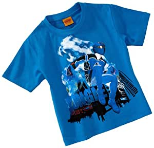 Power Rangers - Camiseta para niño azul, talla: 98cm (3-4 años)