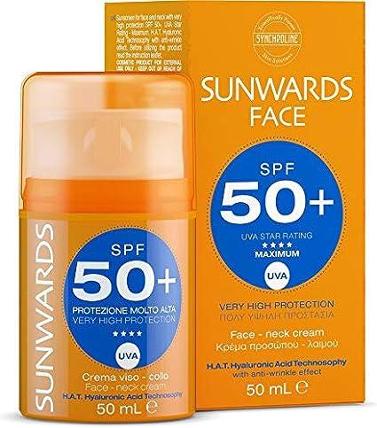 Amazon.com: Synchroline sunwards Face Cream teintee SPF50 50 ...