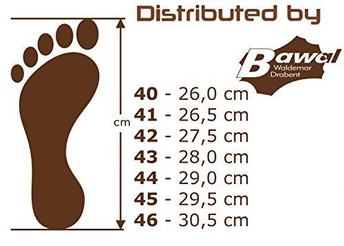 BeComfy, Pantofole uomo, Grau, 43