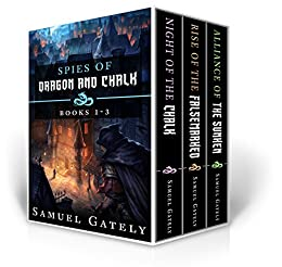 Spies of Dragon and Chalk Books 1-3: Fantasy Boxed Set by [Gately, Samuel]