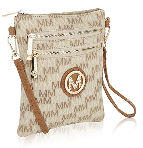 Crossbody Farrow Mia Beige Bag Kerrie by MKF Collection K Eq0xRR