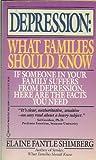 Depression, Elaine Fantle Shimberg, 0345369610