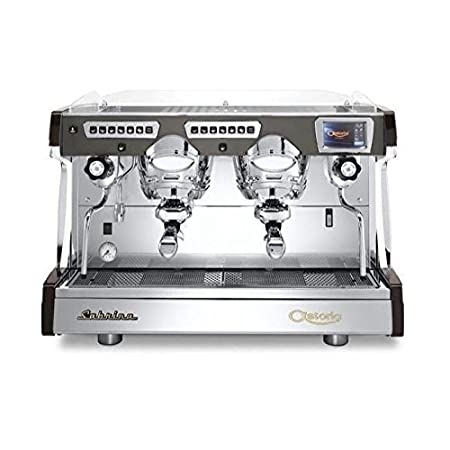Amazon.com: Astoria Sabrina Automatic Cool Touch 2 Group Espresso Machine Brown: Kitchen & Dining