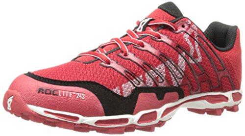 Inov-8 Men's Roclite 243 Running Shoe,Red/Black,9.5 M US/11 M US Women's