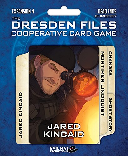 Evil Hat Productions EHP00037 Dresden Files: Cooperative Card Game Expansion 4-Dead Ends Multicolore