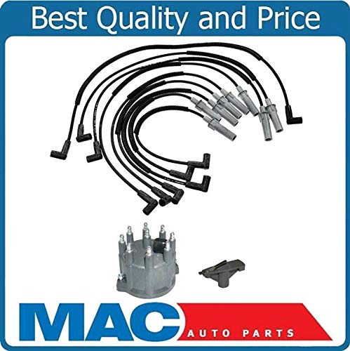 94-03 for Dodge Ram Pick Up & Van 5.2L 5.9L Spark Plug Wire Set Dist Cap & Rotor