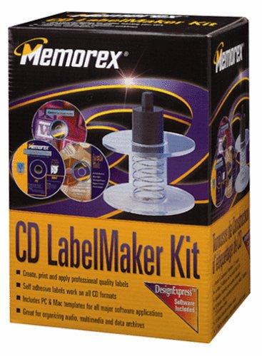 Memorex CD LabelMaker Kit - Memorex Label Maker Cd Labels