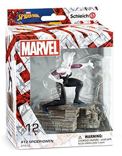 51ZWNNVj2PL SCHLEICH Marvel Spider-Gwen 3D Diorama Character