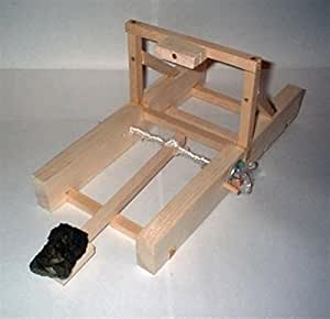 Wooden Catapult Model Construction Kit